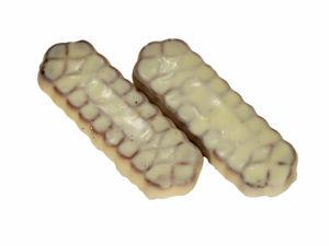 Печенье сахарное в белой глазури Л
