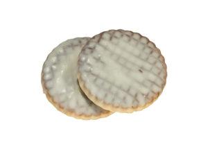 Печенье сахарное глазированное